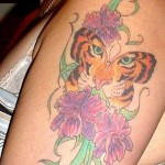 Tiger Butterfly Tattoo Designs, tattoo designs, tattooing, tattoos, designs, piercing, ink, pictures, images, Tiger Butterfly