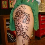 Tiger Tribal Tattoos Designs, tattoo designs, tattooing, tattoos, designs, piercing, ink, pictures, images, Tiger