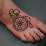 Zodiac Tattoo, Zodiac Tattoo on Foot, Zodiac Tattoo for Guys, Zodiac, Foot, Guys
