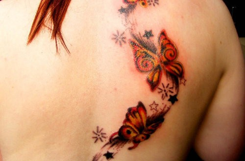 butterfly tattoos butterfly tattoo designs pictures ideas. Black Bedroom Furniture Sets. Home Design Ideas