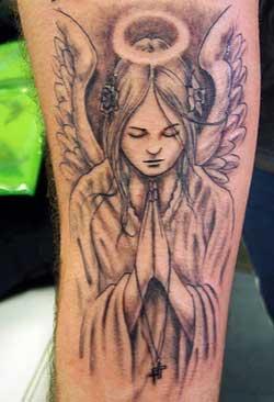 Religious Angel Tattoos For Men Angle Tattoos