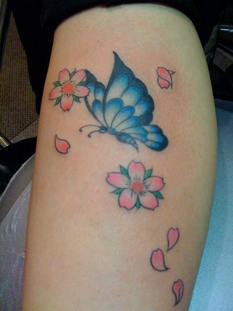 Butterfly Tattoo Ideas (2)