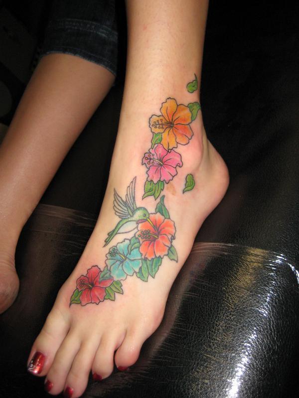 Foot Tattoo Designs (1)