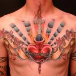 Sacred Heart Tattoos (2)