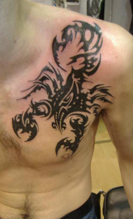 Scorpion-Tribal-Tattoos-9