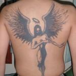 Simple Angel Tattoos (2)