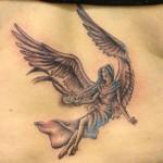 Simple Angel Tattoos (7)