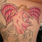 Simple Angel Tattoos (8)