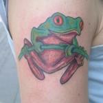 Tree Frog Tattoos8