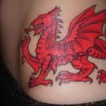 Welsh Flag Tattoos (1)