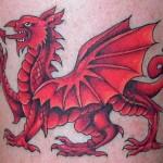 Welsh Flag Tattoos (3)