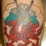 Welsh Flag Tattoos (8)