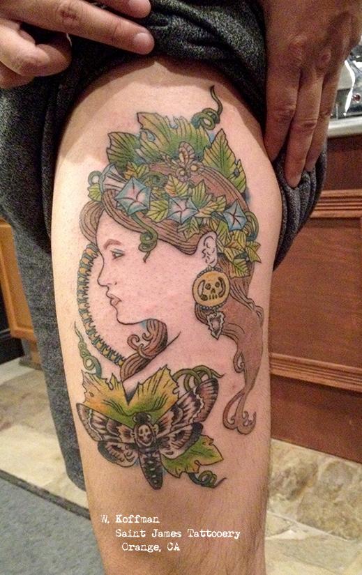 Art Nouveau Tattoo Nouveau