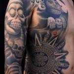 Aztec-Tribal-Tattoo-10