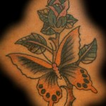 Butterfly-Rose-Tattoos-12