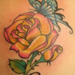 Butterfly-Rose-Tattoos-13