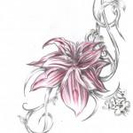 Flower-Tattoo-Flash-14