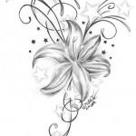 Flower-Tattoo-Flash-15