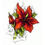 Flower-Tattoo-Flash-2