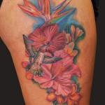 Hawaiian-Flower-Tattoos-5