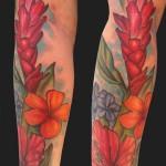 Hawaiian-Flower-Tattoos-6
