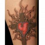 Heart-Cross-Tattoos-4