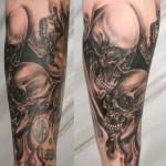 Horror-Face-Skull-Tattoo-1