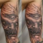 Horror-Face-Skull-Tattoo-3