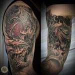 Horror-Face-Skull-Tattoo-7