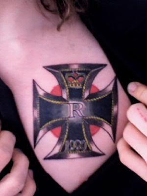 Iron cross tattoos iron cross tattoos 8 publicscrutiny Image collections