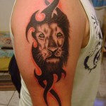 Lion-Tribal-Tattoos-14