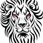 Tribal lion tattoos @ Tattoo Designs http://tattoocolors.blogspot.com