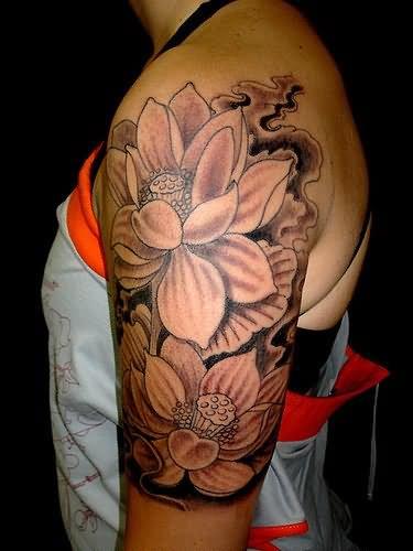 Lotus-Tribal-Tattoos-6