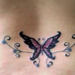 Lower-Back-Butterfly-Tattoos