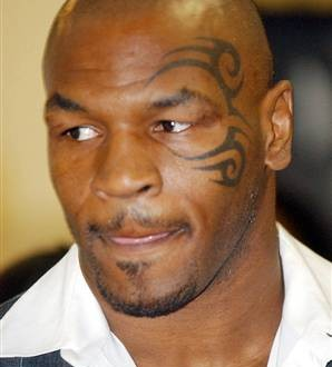 mike tyson tattoos. Black Bedroom Furniture Sets. Home Design Ideas