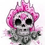 Sugar-Design-Scull-Tattoo-1