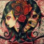 Sugar-Design-Skull-Tattoo-3