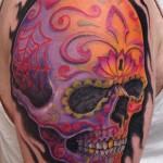Sugar-Design-Skull-Tattoo-5