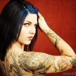 Terrible Arm Skull Tattoo