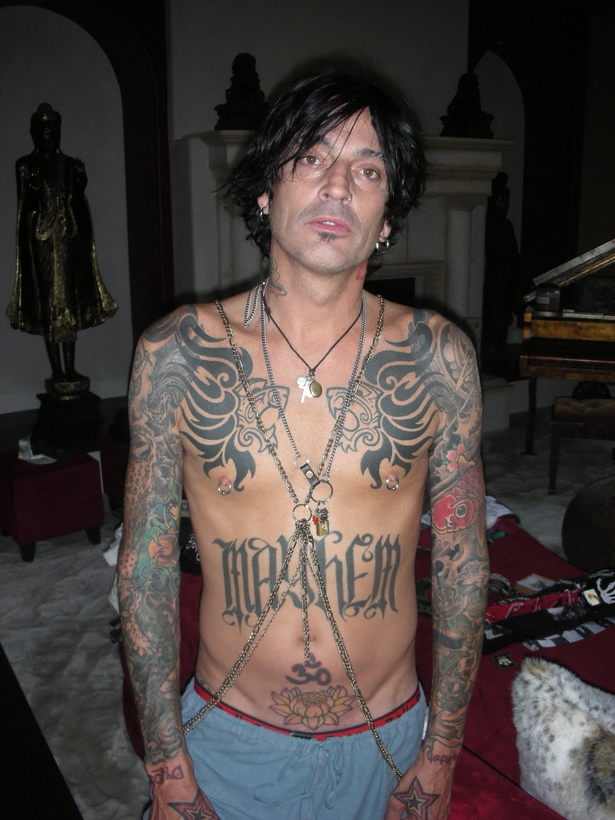 Tommy Lee Tattoos